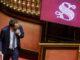 Salvini in Senato per il voto sul processo Open Arms