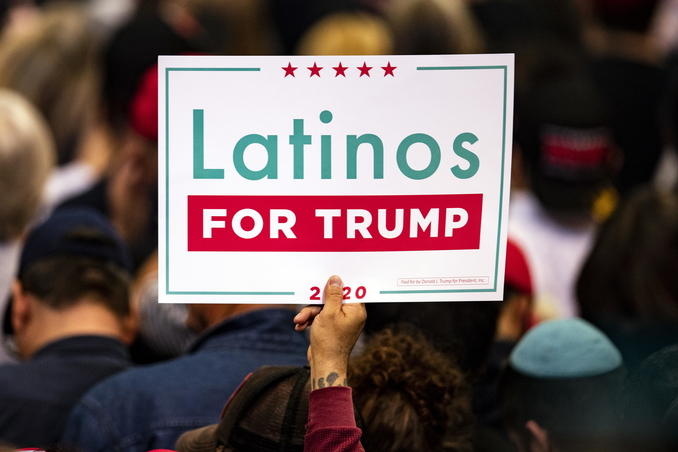 latinos ispanici trump usa