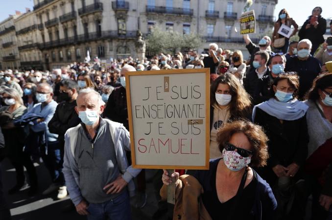 francia manifestazione paty