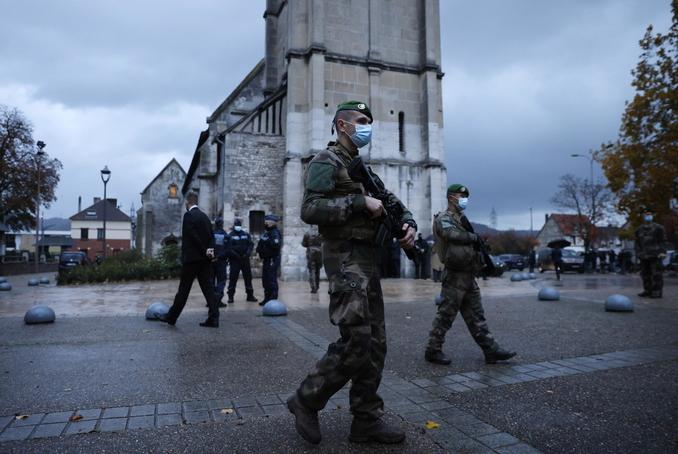 francia chiesa terrrorismo
