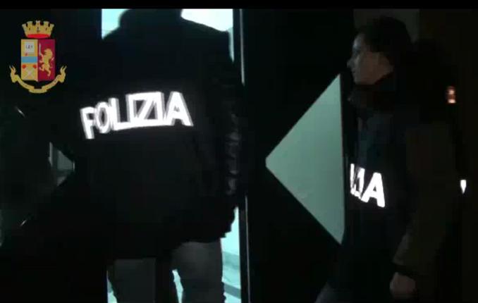 polizia perquisizione