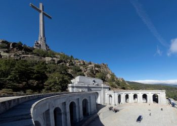 La riesumazione di Francesco Franco al memoriale della Valle de los Caidos