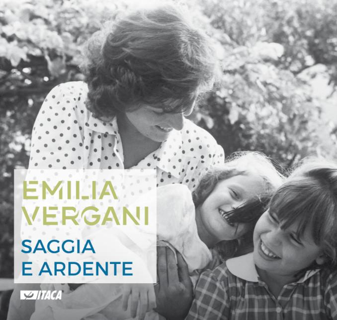 Copertina del catalogo della mostra 'Emilia Vergani. Saggia e ardente'