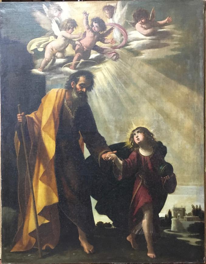 Giovanni Baglione, San Giuseppe con Gesù giovinetto
