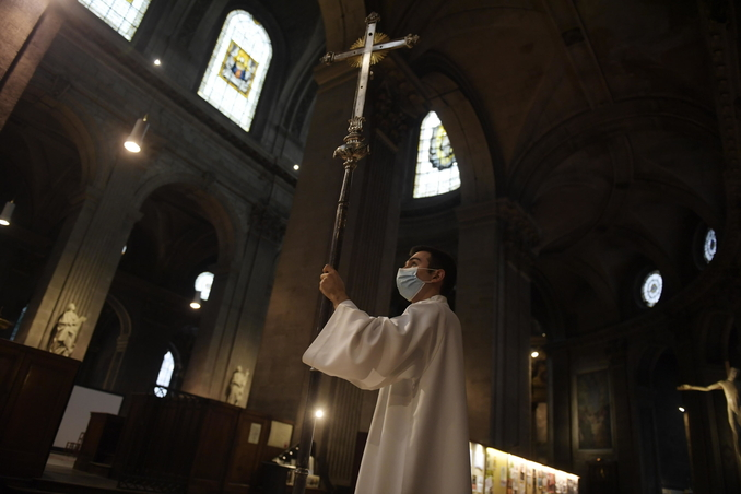 francia chiesa cristiani covid