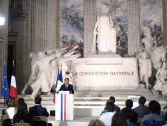 francia macron pantheon