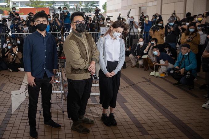 Hong Kong, Joshua Wong si dichiara colpevole: