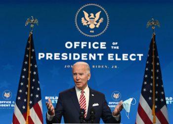 Joe Biden parla da presidente eletto