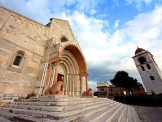 Duomo cattedrale di Ancona, facciata e campanile