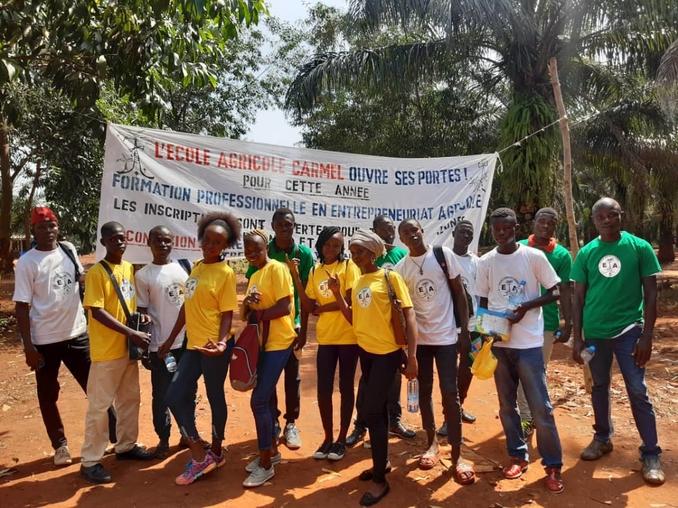 centrafrica bangui scuola agricola