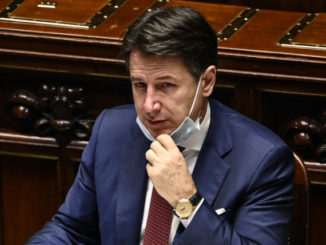 Giuseppe Conte in Parlamento