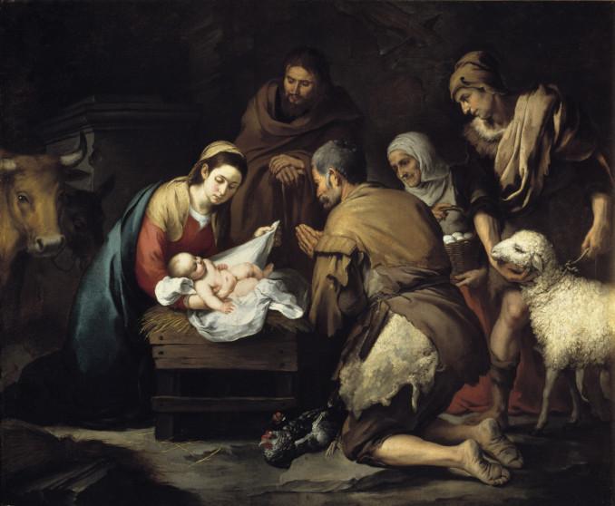 Adorazione dei pastori di Bartolomé Esteban Murillo