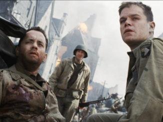 Una scena del film 'Salvate il soldato Ryan'