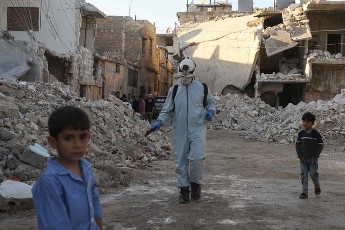 siria aleppo covid