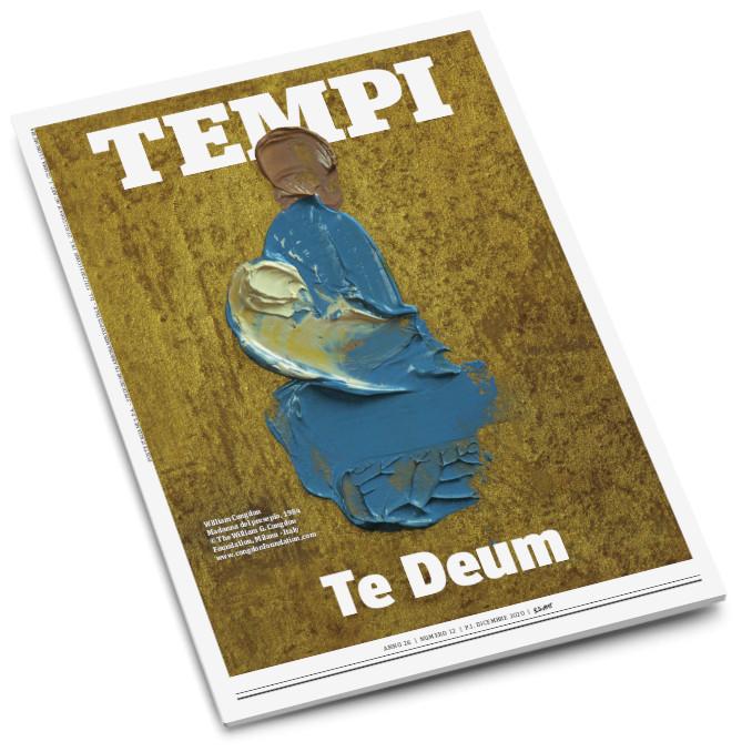 La copertina del mensile Tempi di dicembere 2020