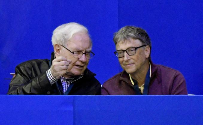 Warren Buffett e Bill Gates