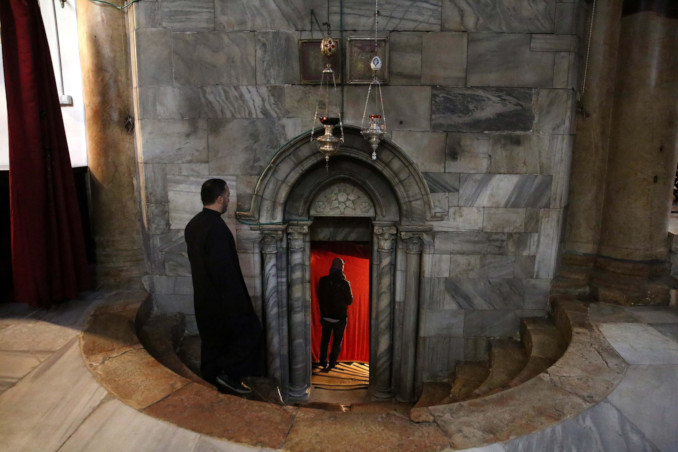 Visita alla Basilica della Natività a Betlemme