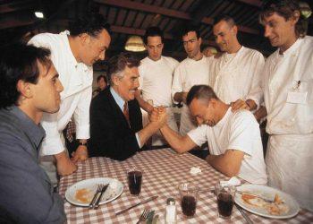 Vincenzo Muccioli, fondatore di San Patrignano, in una foto d'archivio. ANSA/UFFICIO STAMPA SAN PATRIGNANO ++ NO SALES, EDITORIAL USE ONLY ++