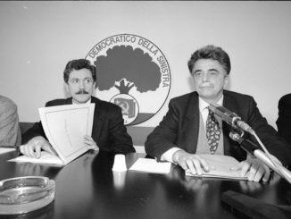 Achille Occhetto e Massimo D'Alema
