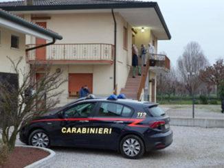 Scena del duplice omicidio a Trebaseleghe nel Padovano