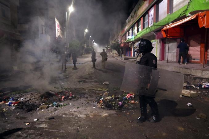 tunisia proteste
