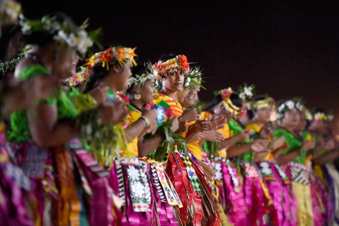 Cerimonia di apertura del Forum delle Isole del Pacifico 2019