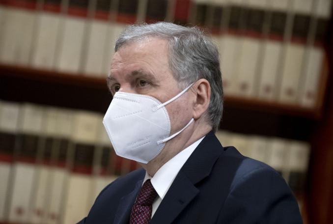 Ignazio Visco durante l'audizione in commissione banche