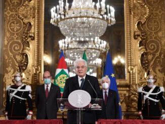 Il discorso di Sergio Mattarella dopo il fallimento delle consultazioni per il governo Conte ter