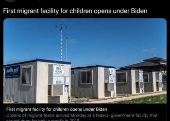 migranti bambini texas usa