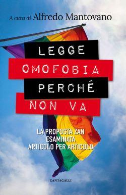 Copertina del libro Legge omofobia perché non va