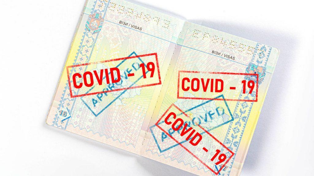 Rendering passaporto vaccinale