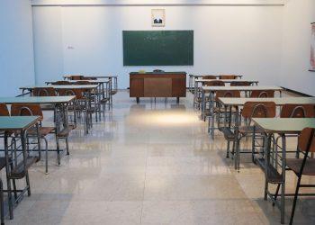 Aula di scuola vuota
