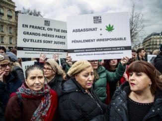 Sarah Halimi, manifestazione a Parigi il 25 aprile 2021
