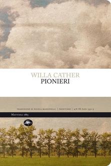 Willa Sibert Cather pionieri