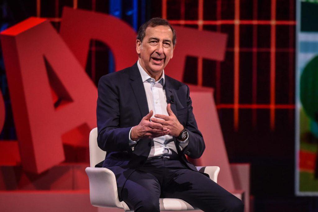Il sindaco di Milano Beppe Sala ospite del programma di Rai3 Le parole della settimana