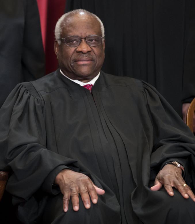 Il giudice Clarence Thomas