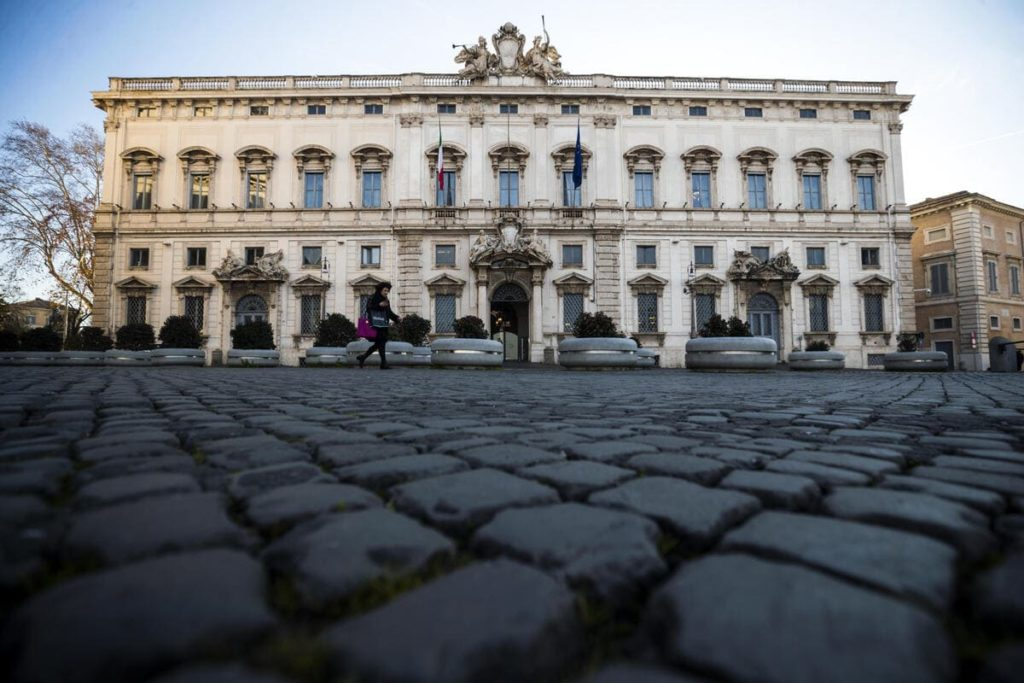 corte costituzionale, il palazzo della Consulta