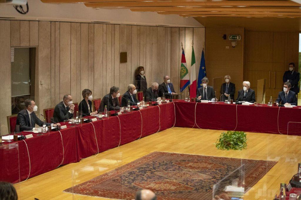 Csm, Consiglio Superiore della magistratura con Sergio Mattarella