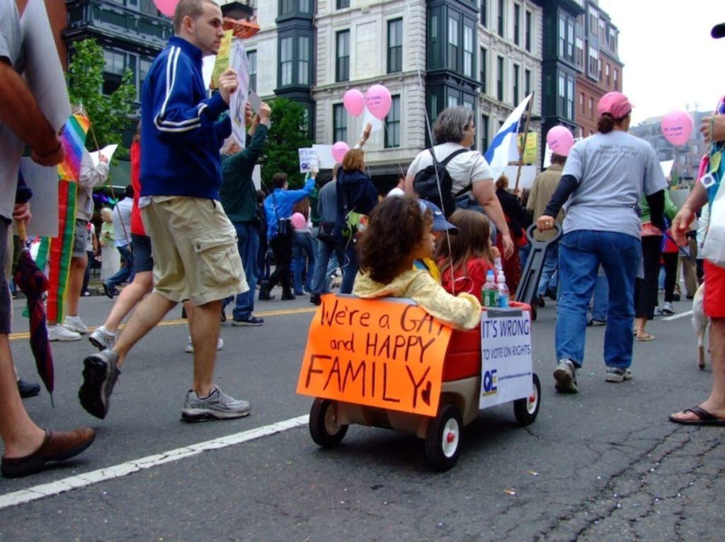 gay pride bambini