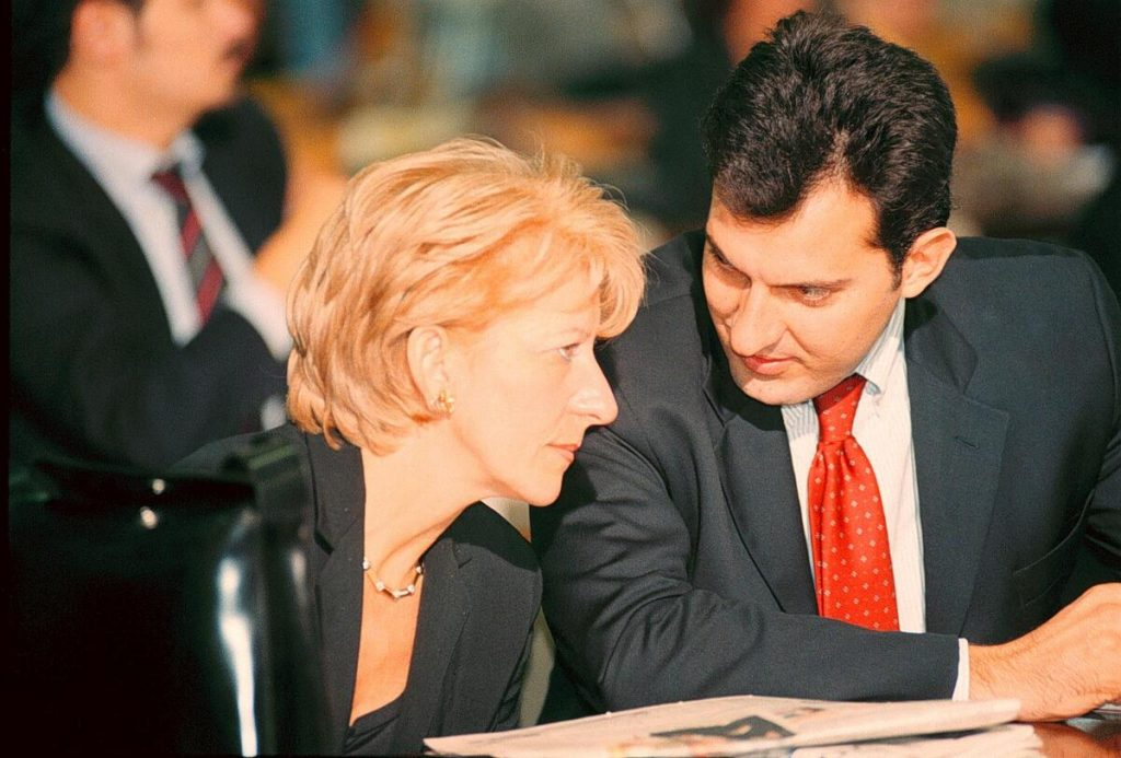 Gemma e Mario Calabresi