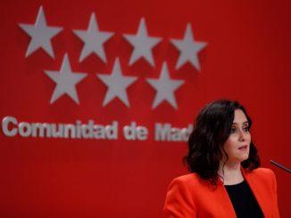 Isabel Diaz Ayuso, presidente Comunità di Madrid