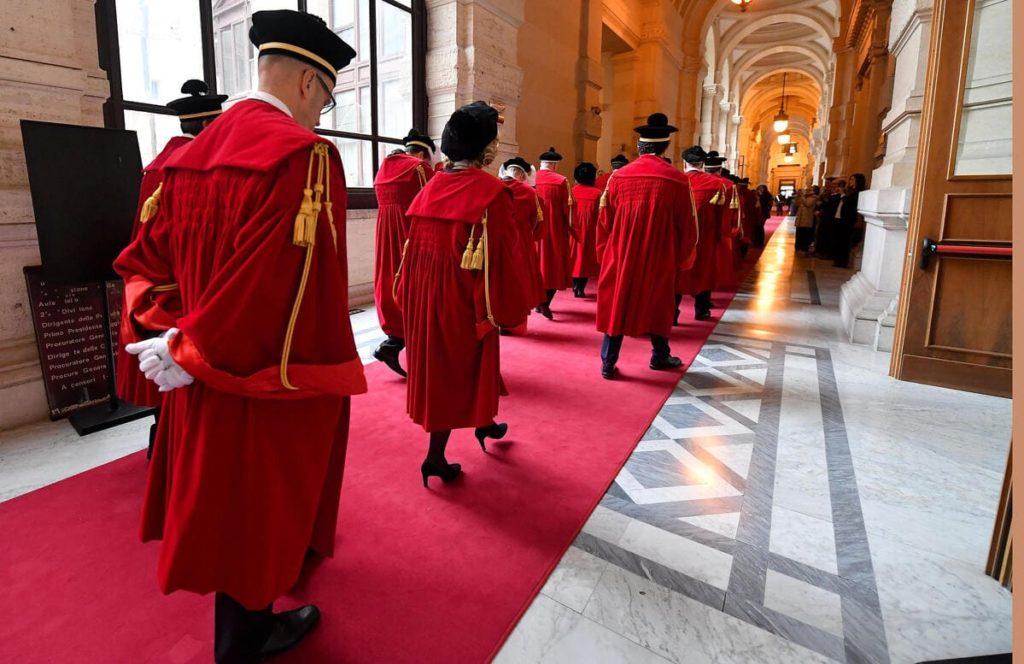Magistrati Cassazione all'inaugurazione dell'anno giudiziario