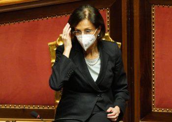 Marta Cartabia in Senato