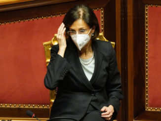 Marta Cartabia in Senato