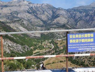 Un tratto dell'autostrada che collega il Montenegro alla Serbia, costruita dalla Cina