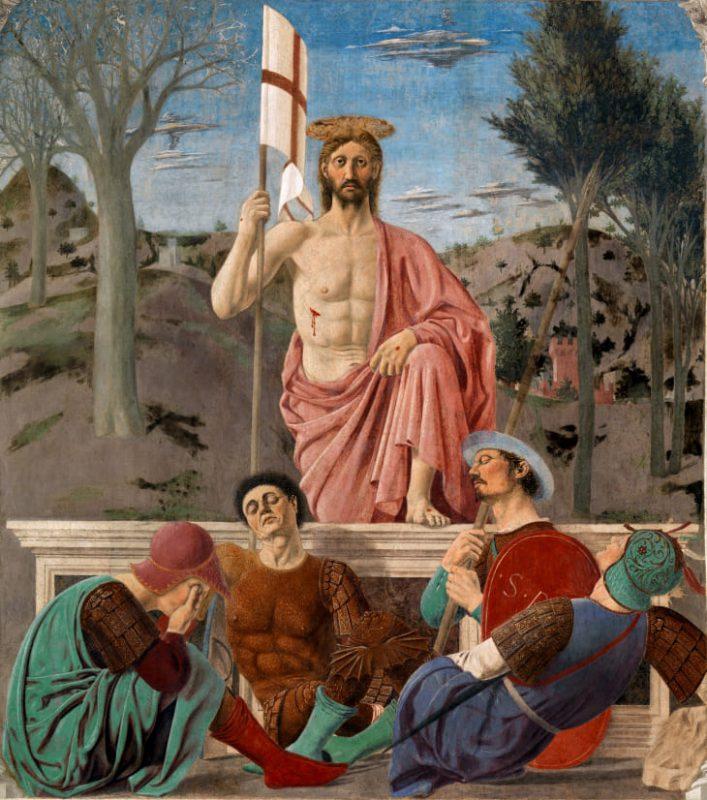 resurrezione piero francesca