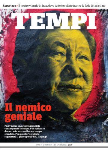 La copertina del numero di aprile 2021 di Tempi