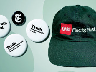 Spillette Truth del New York Times e berretto facts della Cnn