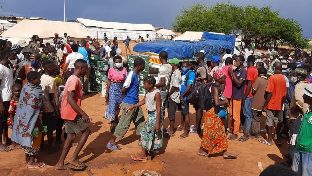 Migliaia di sfollati in Mozambico in fuga dall'Isis si sono stabiliti a Pemba