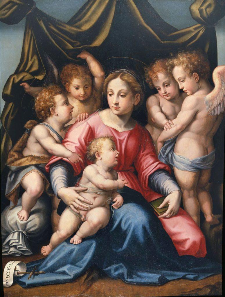 Tosini - Madonna con Bambino